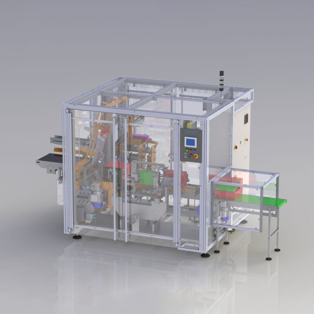 Automatic Horizontal Casepacker machine for food and drink
