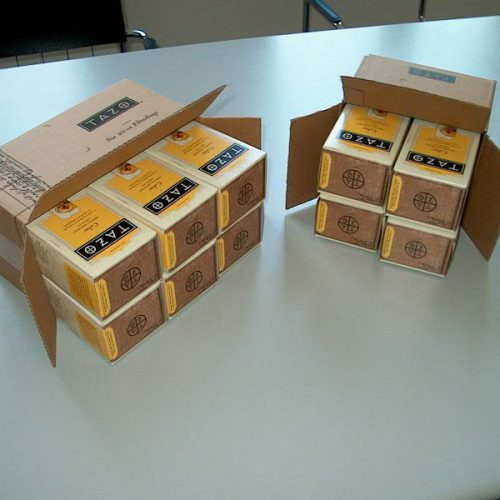 Automatic Horizontal Casepacker machine for drink boxes examples